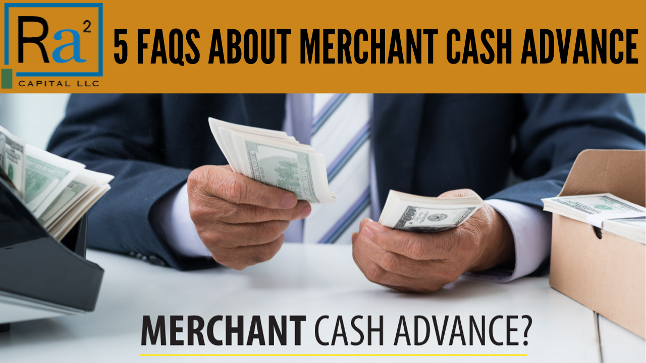 Radium2 Capital Shares: 5 FAQs About Merchant Cash Advance